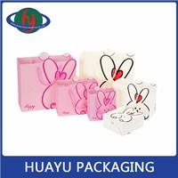 OEM package design custom smart shopping paper bag
