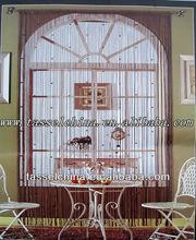 Modern glass ball bead string door window curtain, QX-DR34
