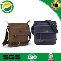 Mixcolor China Made high quality classical canvas bag for men, canvas bag with long strip