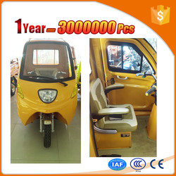 green electric van for delivery for cargo