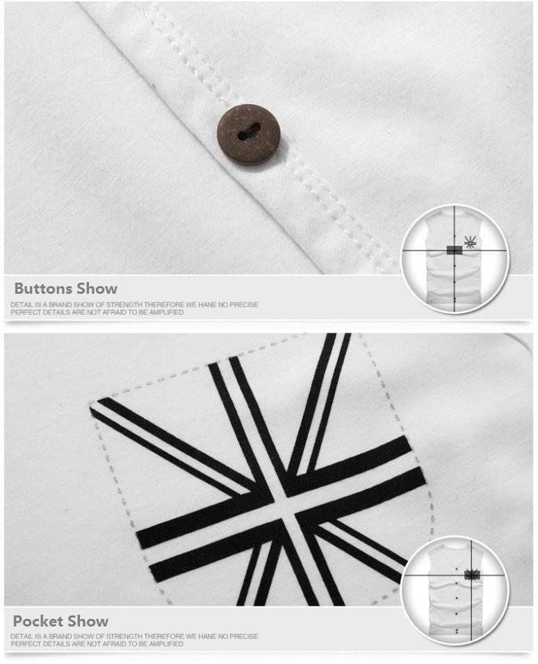 Men Vest Button Show