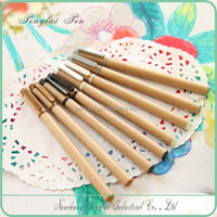 hot selling new design mix wholesale different color popular recycled kraft paper pen