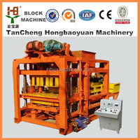 highly productivity Automatic block making machine concrete building blocks for Mexico