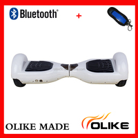 China 2 wheel electric scooter bluetooth big wheel electric scooter remote electric mini scooter two wheels self balancing