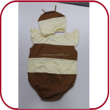 OEM baby 1 year old party dress organic baby clothes baby romper PGBC-0502