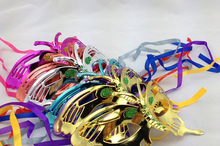 new model 2015 fashion wholesale bright color butterfly party mask