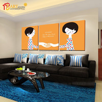 The Unique Fresh Style Modern Art Oil Painting of Cartoon