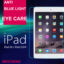 9h hardness 0.33mm thickness 2.5D electroplate coating tempered glass for ipad mini protective film