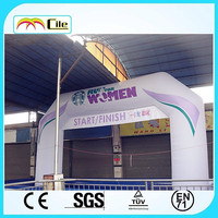 CILE factory outlet new custom colorful inflatable tube arch (advertising, sales promotion, simulator, events)