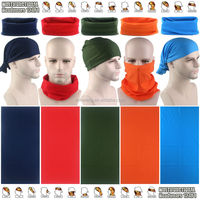 Wholesale Assorted Fashion Patterns Microfiber Tube Headwear Sport Scarf Plain Multifunctional Bandana