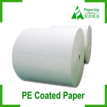 One Side / Single Side Pe Coated Paper In Roll For Paper Cup