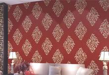 good quality morden coated design waterproof cheap peelable modern new heavy plain vinyl wallpaper
