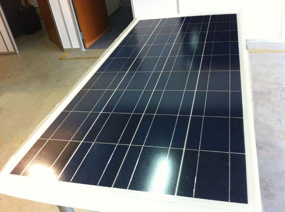 Linha de montagem de painéis solares REOO 10 MW usado no sistema de energia solar