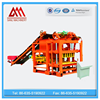 QTJ4-25 cement hollow block making machine automatic concrete interlock paver block brick machine supplier