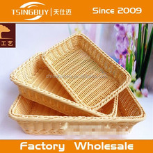 China factory direct wholesale Bread displaying customized size storage baskets and bins
