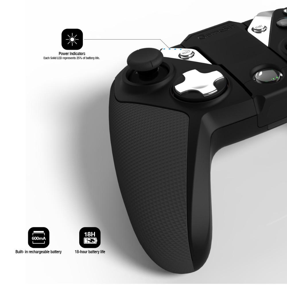Gamesir G4s Joystick Controller For Electric Wheelchair/ps3 Gamepad ...