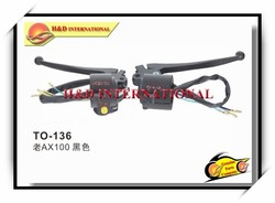 AX100-2 Motorcycle Handle Switch,High quality motorcycle switch,motorcycle handlebar switch,starter switch