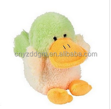 baby duck plush doll/soft duck stuffed toys/kids duck puppet soft toys