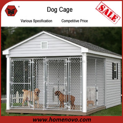 High Quality Competitive Price 2 Run Area Dog House Dog Cage Pet House For Large Dogs