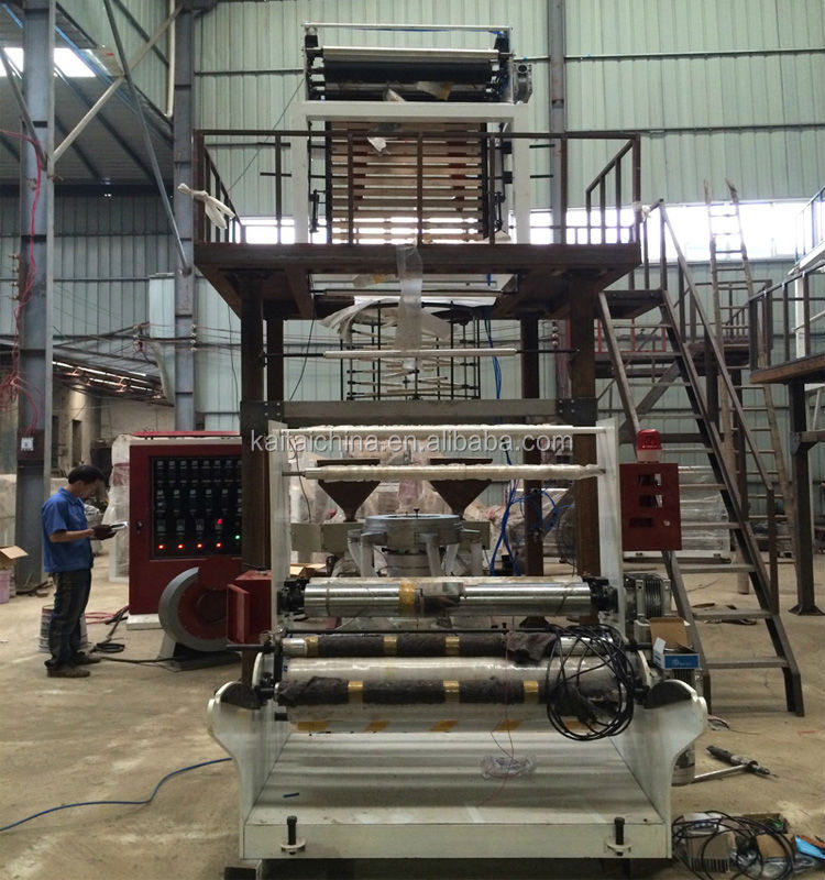 ABA three layer film blow machine