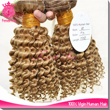 Brazilian human hair extension kinky curly micro bead loop hair extension