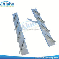 Hot sell Aluminum louver window frames with double bar