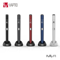 Newest electronic cigarette dry herbal chamber vaporizer Puffly F1 electric vaporizer kit