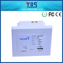 High quality WIFI Router USB Wall Socket WIFI AP Wireless 15 amp switched socket