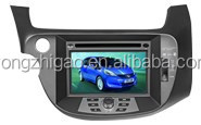 [YZG]Touch screen car DVD Player for honda fit with GPS navigation,high quality ,favorable price
