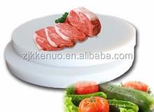 pe cutting board/plastic chopping pad/round cutting board