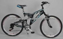 bicicleta de montaña de china modelo 2013 doble Suspension (VB-M24002)
