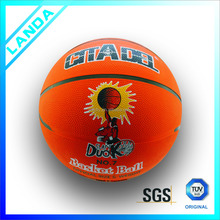used size 7 rubber basketball