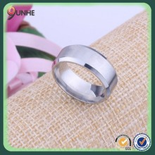 the new stainless steel generous personality no word tungsten rings brushed titanium steel men's rings