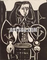 Pablo Picasso Painting on Canvas for Hotel Decorative Wall Art
