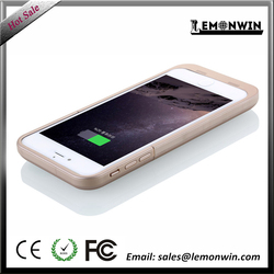 6800 mAh solar powered cell phone case cover for iPhone 6 plus