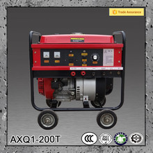 Gasoline DC 220V 200A miller small welding machine