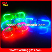 Wholesale New product 2015 light party Led glasses el glasses wedding decoration