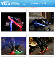 Sherry-3528Flashing led strip RGB for shoes /shoe sole