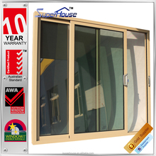 Anti-theft AS2047 standard large sliding glass doors for country house