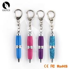 Jiangxin key rings pen small ballpoint pen customized metal design ball pen