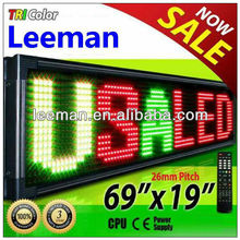 wireless led scrolling sign bluetooth led controller led message display sign