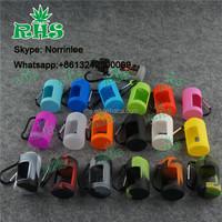 RHS 19 colors silicone case/sleeve/cover for e liquid bottle glass e liquid bottle flavours for e-liquid e liquid display rack