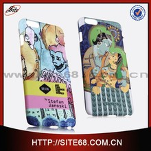 3d sublimation pc custom phone case customzied design cell phone cover for iphone 6 wholesale