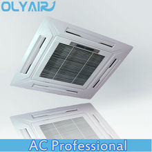 Cassette de techo de aire acondicionado, aire acondicionado de techo 24000-60000btu capacidad de enfriamiento