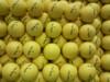 2 pieces golf ball -Customized Yellow golf ball color golf ball