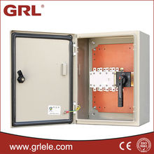 iron electrical distribution box size
