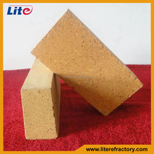 High temperature fire resistant fire clay material SK32 SK34 dense burned brick for kiln lining