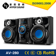 Popular Hi Fi 2.0 speaker with DVD Player