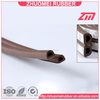 sponge EPDM rubber D type seal for house insulation