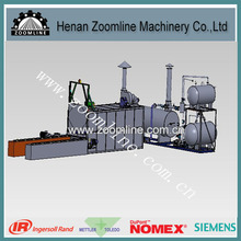 new automatic high efficiency energy saving pitch melting equipment